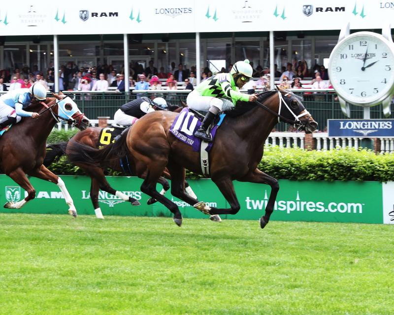 WILL CALL - The Twin Spires Turf Sprint - G3 - 24th Running - 05-04-18 - R07 - CD - Finish 01