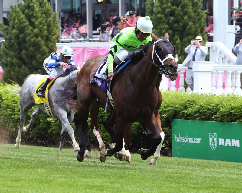 WILL CALL - The Twin Spires Turf Sprint - G3 - 24th Running - 05-04-18 - R07 - CD - Finish 02