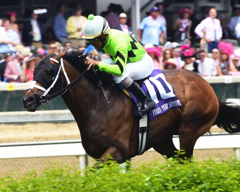 WILL CALL - The Twin Spires Turf Sprint - G3 - 24th Running - 05-04-18 - R07 - CD - Inside Finish 01