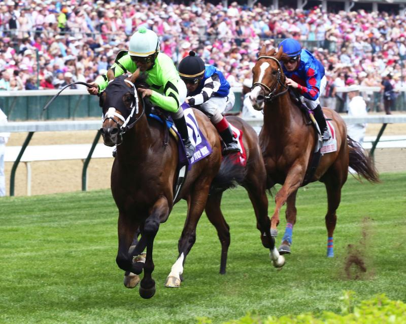 WILL CALL - The Twin Spires Turf Sprint - G3 - 24th Running - 05-04-18 - R07 - CD - Inside Finish 02