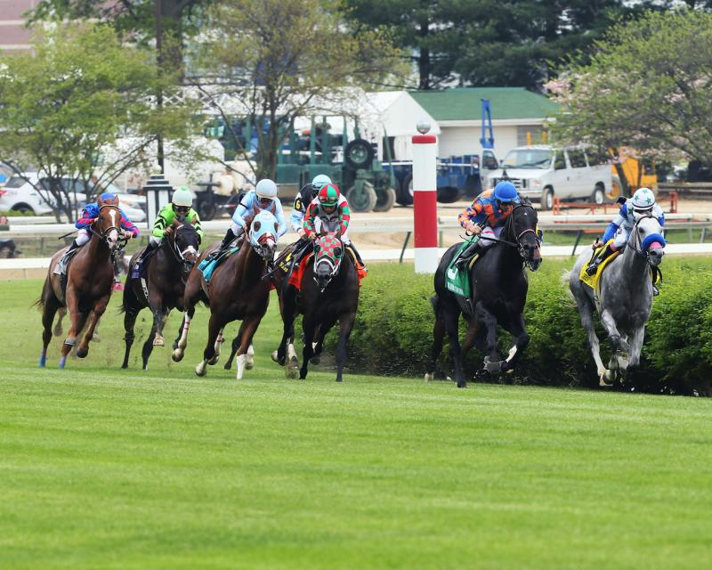 WILL CALL - The Twin Spires Turf Sprint - G3 - 24th Running - 05-04-18 - R07 - CD - Turn 01