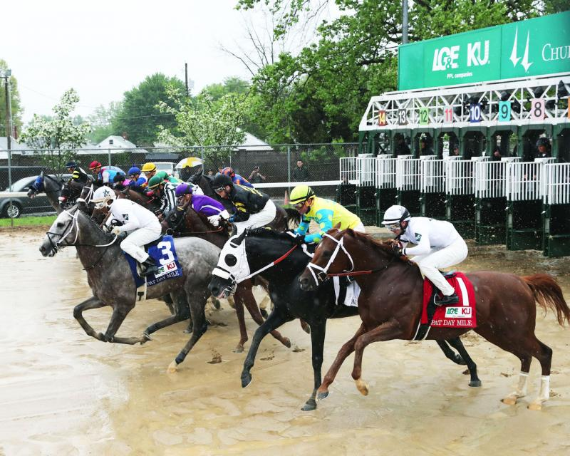 FUNNY DUCK - The Pat Day Mile G3 - 94th Running - 05-05-18 - R10 - CD - Gate Start 01