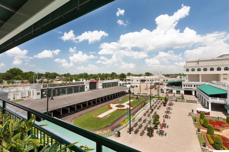Turf Club Balcony View