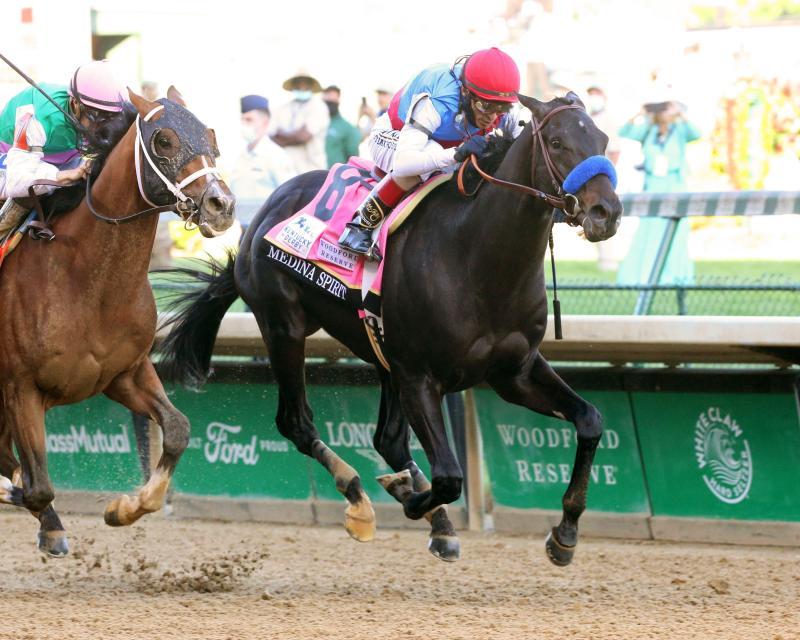MEDINA SPIRIT - The Kentucky Derby G1 - 147th Running - 05-01-21 - R12 - CD - Finish 02