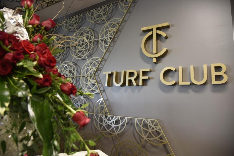 Turf Club Sign