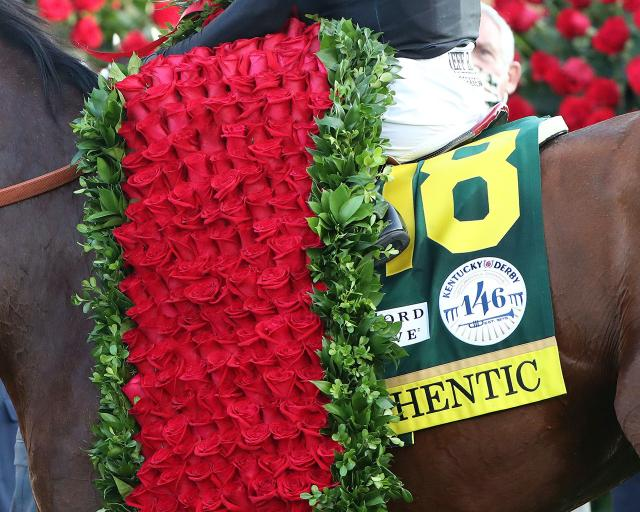 Authentic Claims the Garland of Roses in a Historic 146th Kentucky Derby