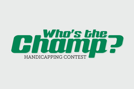 Who's the Champ Handicapping Contest image