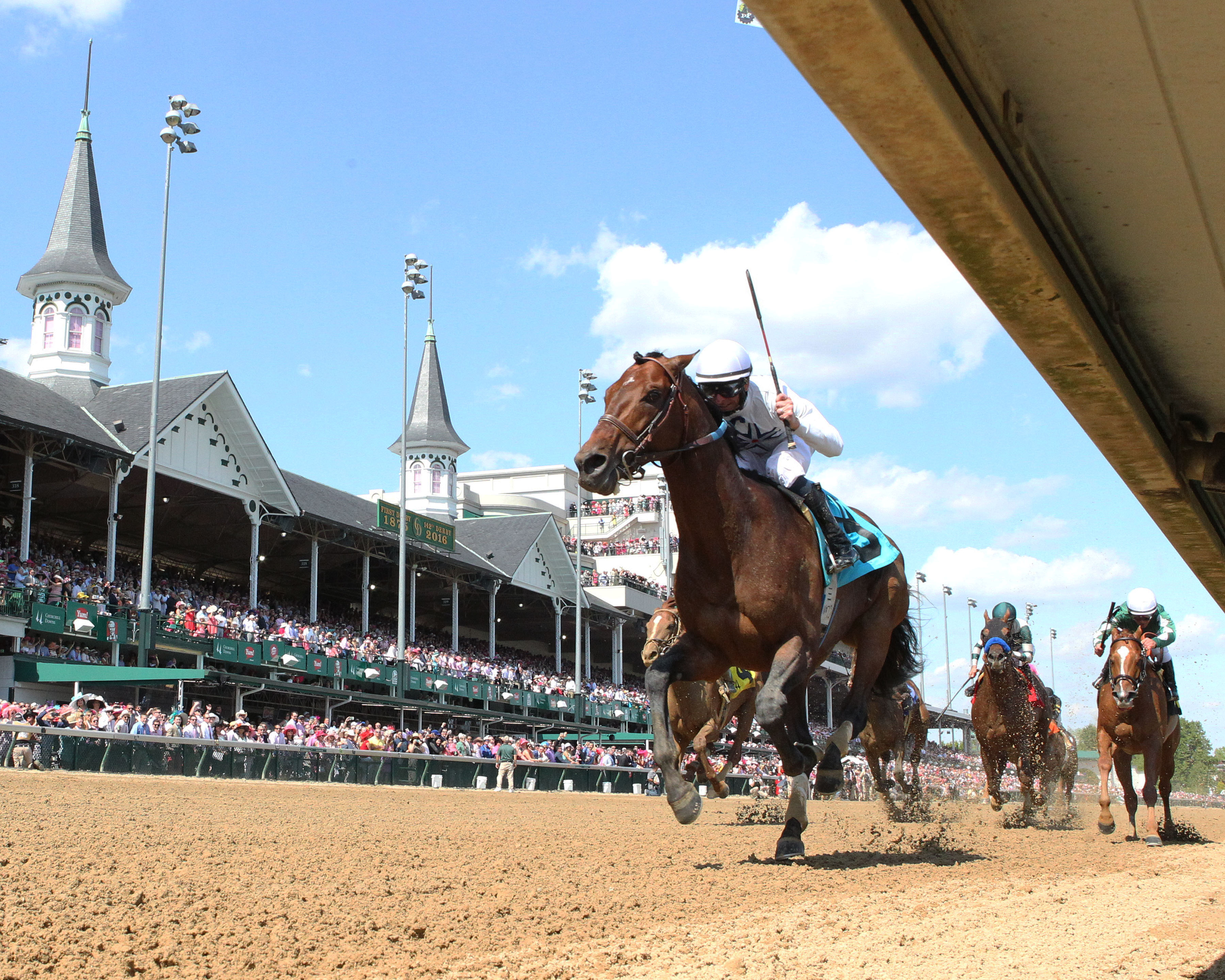 Venerable Majestic Harbor Just Cruising In Breeze For Gi Stephen Foster Churchill Downs Racetrack Home Of The Kentucky Derby