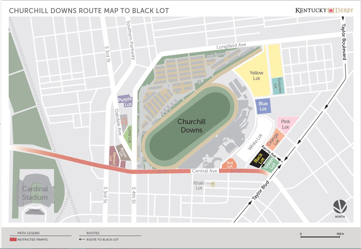 Breeders' Cup Parking Friday and Saay | | Churchill ... on louisville map, texas motor speedway map, santa anita map, elizabethtown map, cave hill cemetery map, emerald downs map, madison square garden map,