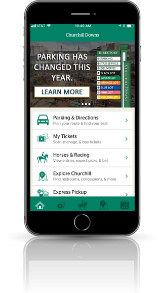 Download the Churchill Downs App
