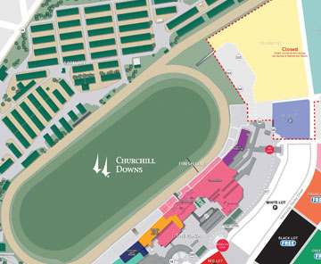 kentucky downs map - 28 images - maps directions 2018 kentucky derby ...